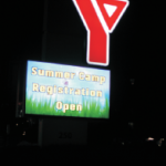 YMCA Summer Camp Sign